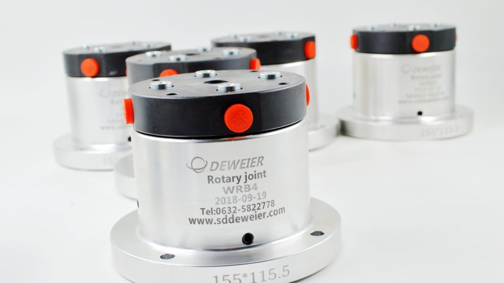 Hydraulic rotary joint